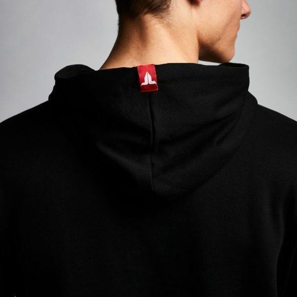 IAMTORO Hoodie Logo Zwart back