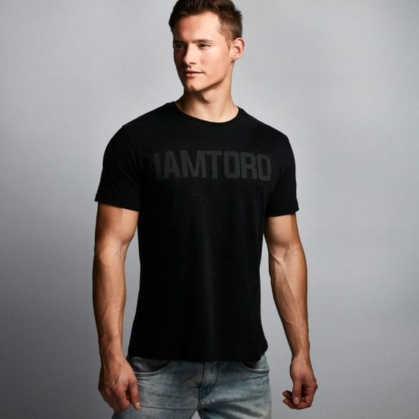 IAMTORO T-Shirt Logo Zwart front