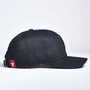 IAMTORO Baseball Cap Icon Zwart side