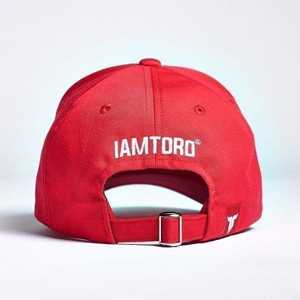 IAMTORO Baseball Cap Icon Rood back